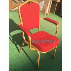 Kollu konferas salon toplantı sandaliye